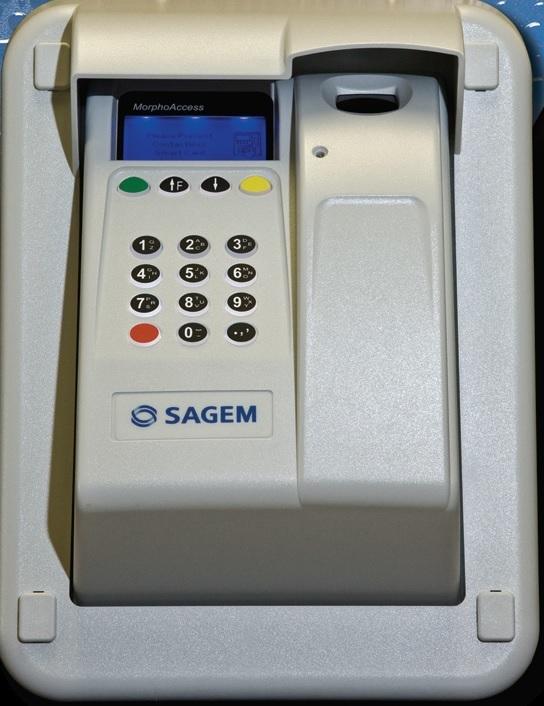 Sagem Morpho OMA 520 Outdoor fingerprint reader