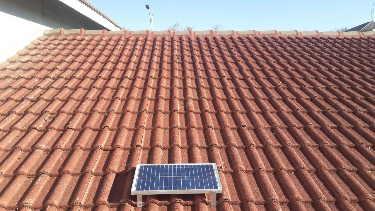 Solar Battery Backup Kit